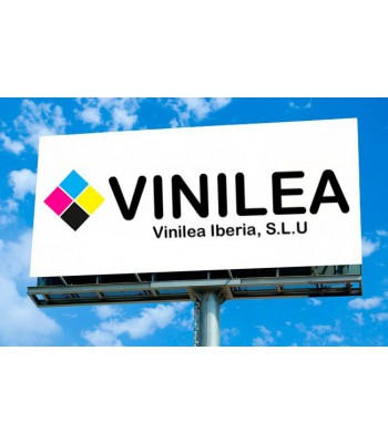 Vinilo Monomérico 100u, Trasera Gris y Adhesivo Reposicionable VINILEA