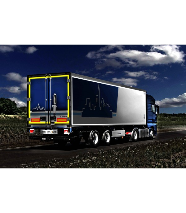 Lámina Microprismática para contorno de camiones NIKKALITE