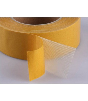 Adhesivo Doble Cara Poliéster Transparente 60µ VINILEA